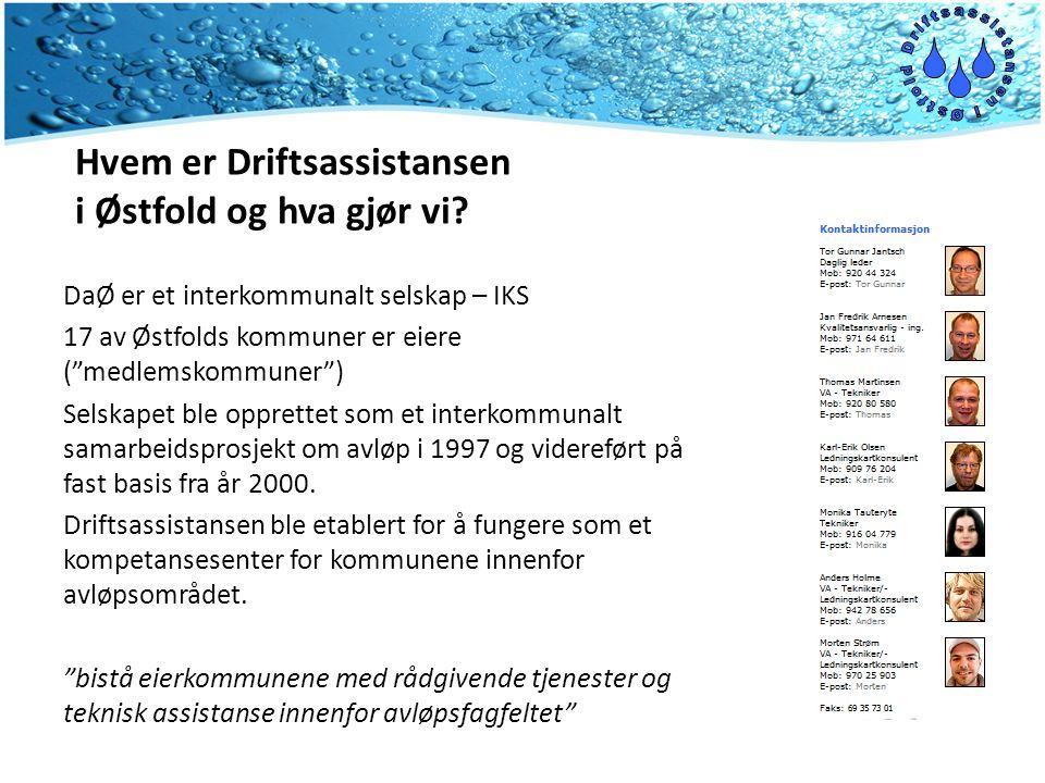 Hvem er Driftsassistansen i Østfold og hva gjør vi.