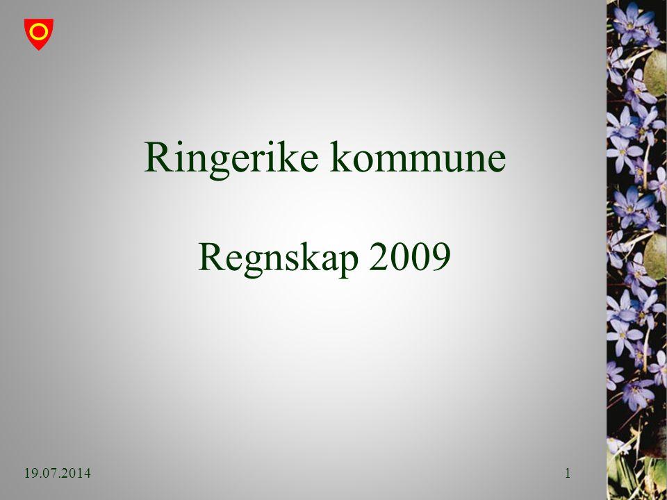 Ringerike kommune Regnskap 2009 19.07.20141
