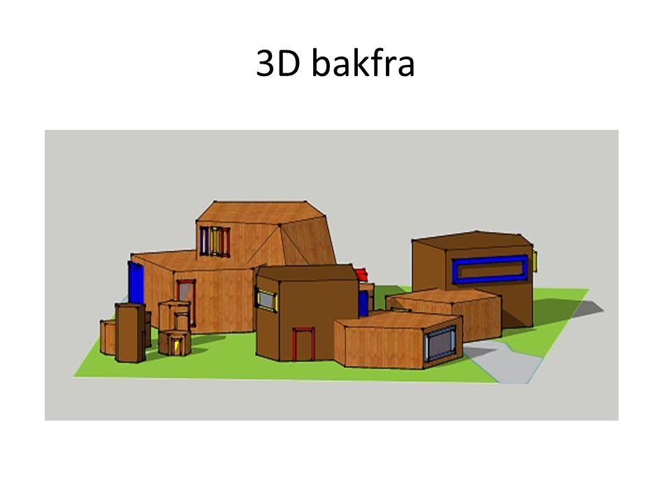 3D bakfra