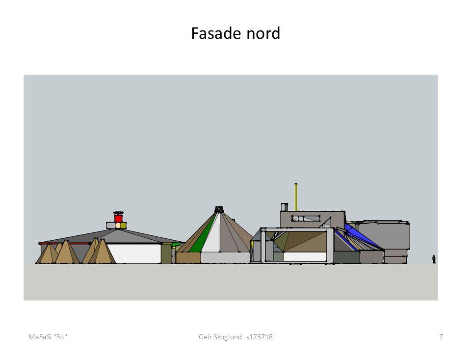 Fasade nord MaSaSi