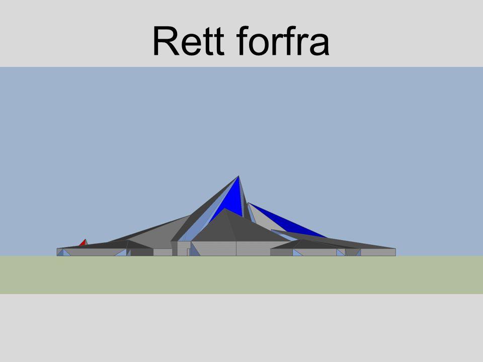 Rett forfra
