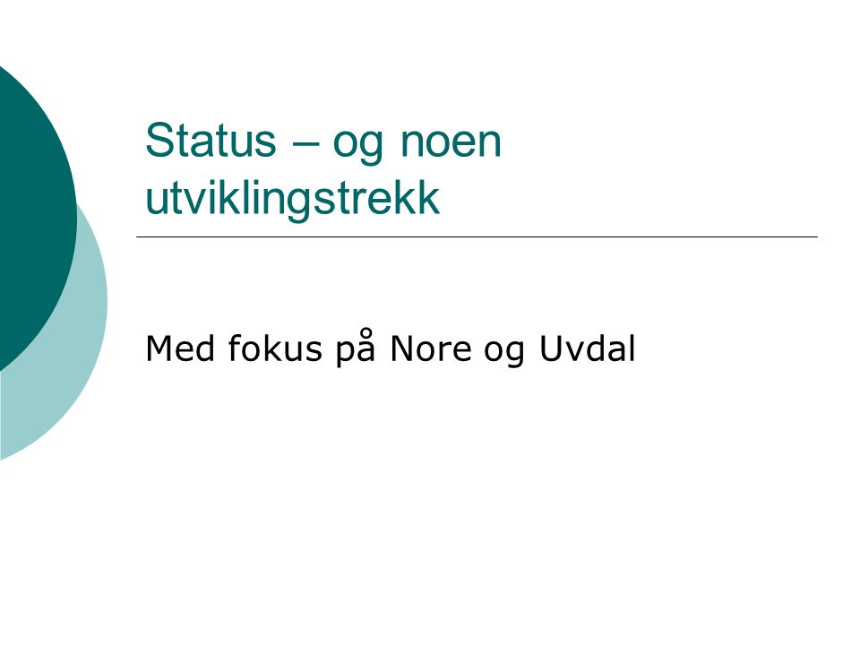 Halvparten av virksomhetene går med underskudd i Nore og Uvdal - gjennomsnittet på østlandet er 31%