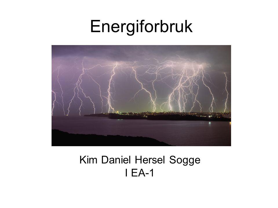 Energiforbruk Kim Daniel Hersel Sogge I EA-1