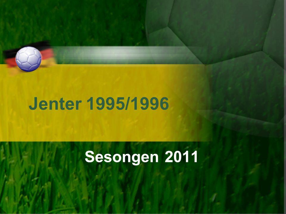Jenter 1995/1996 Sesongen 2011