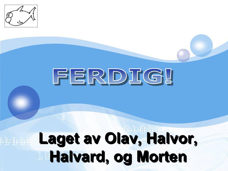 LOGO Laget av Olav, Halvor, Halvard, og Morten