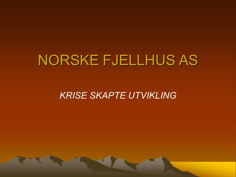 NORSKE FJELLHUS AS KRISE SKAPTE UTVIKLING