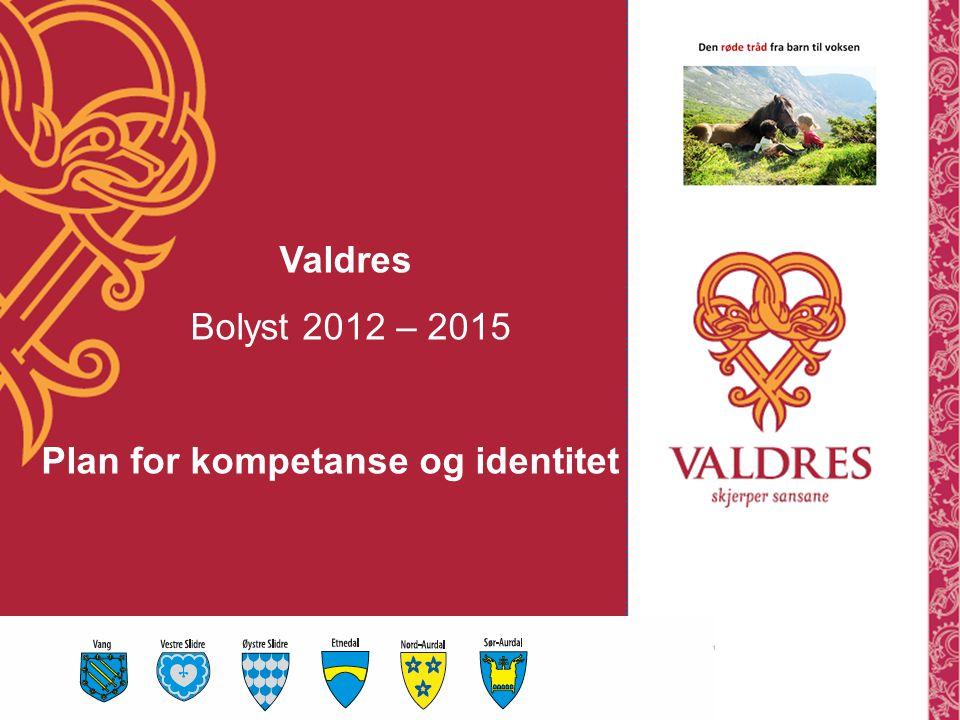 Valdres Bolyst 2012 – 2015 Plan for kompetanse og identitet