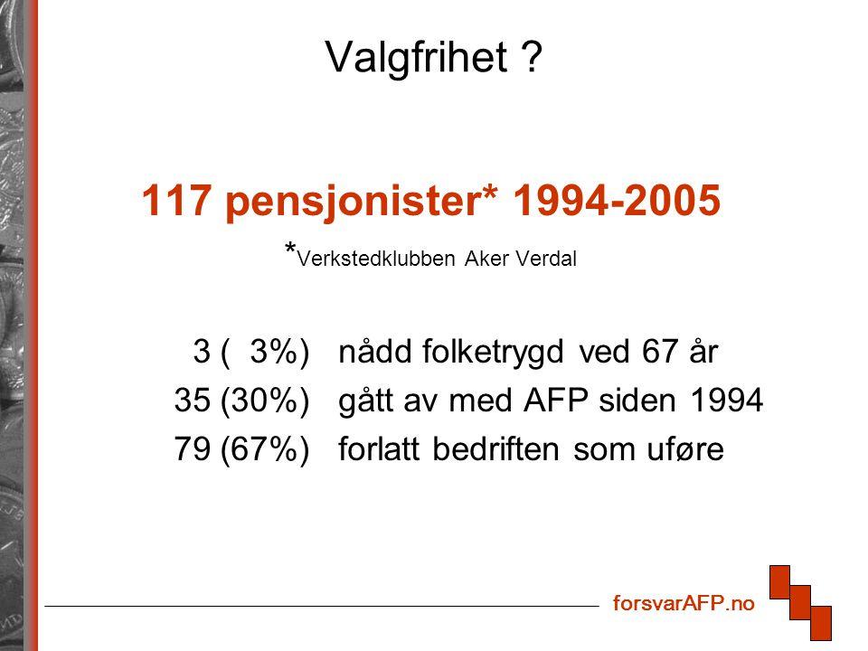 forsvarAFP.no Valgfrihet .