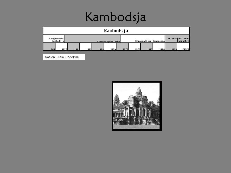 Kambodsja Nasjon i Asia, i Indokina