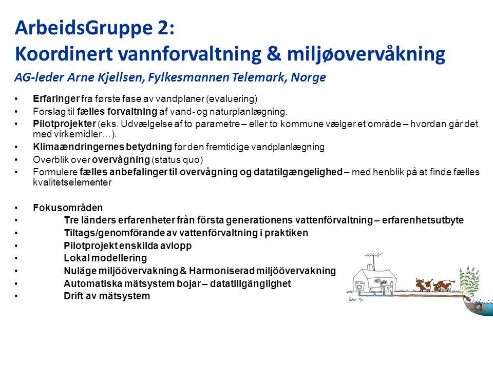 Erfaringer fra første fase av vandplaner (evaluering) Forslag til fælles forvaltning af vand- og naturplanlægning.