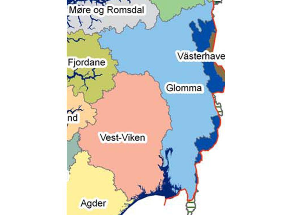 Prosess avgrensning Vannregionmyndigheten for Glomma innhenter faglige råd fra Direktoratet for Naturforvaltning.