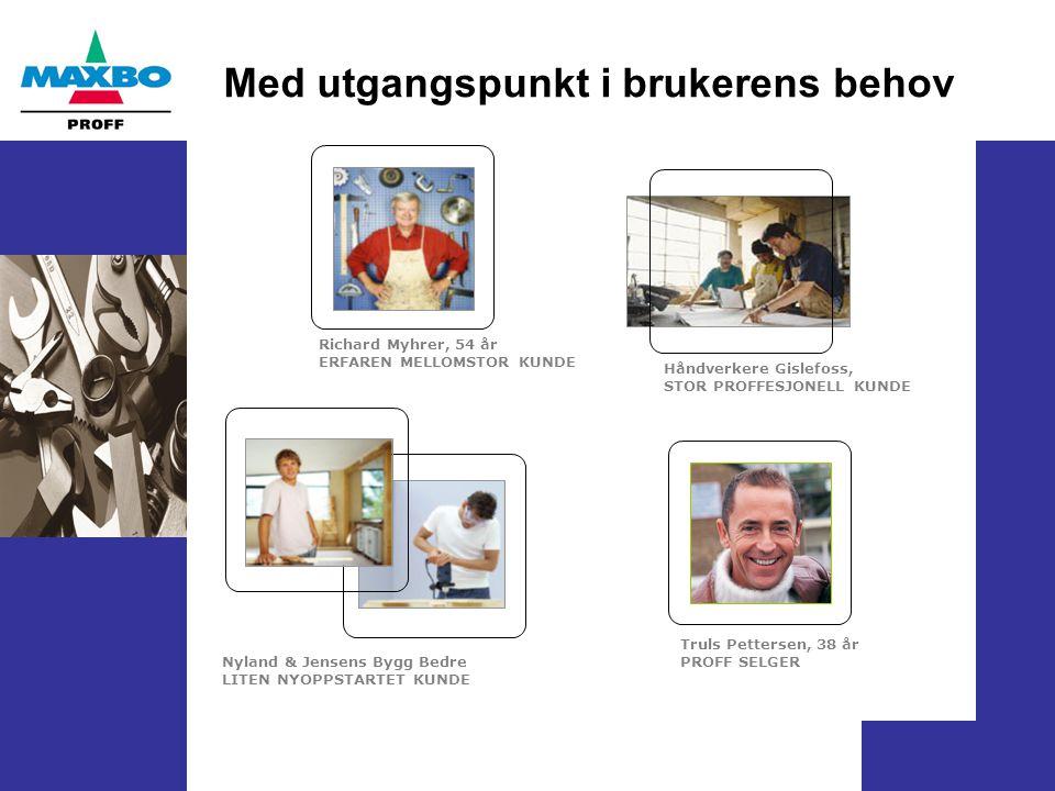 Hovedkonseptet: Hva jeg vil, når jeg vil (slik jeg vil) Er en sammensmelting av del-konseptene: 1.Finn-velg-kjøp (kjøpsprosessen) 2.Kommunikasjon (lagre og lese kommunikasjon mellom PROFF selger og kunde) 3.Prosjekt 4.Hjelp til selvhjelp (Tjenester og dokumentasjon) 5.Multikanalstrategi (sømløst salg og service gjennom flere kanaler - samtidig)