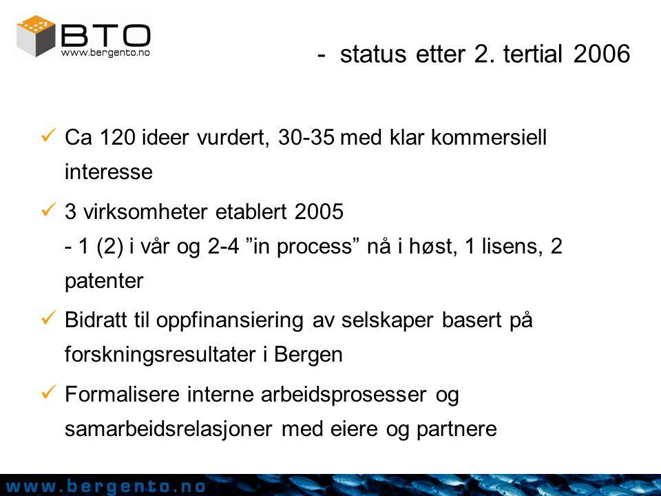 - videre arbeid Q4 Styre-/strategiseminar november Planlagte arrangementer –BTO-konferansen 9.