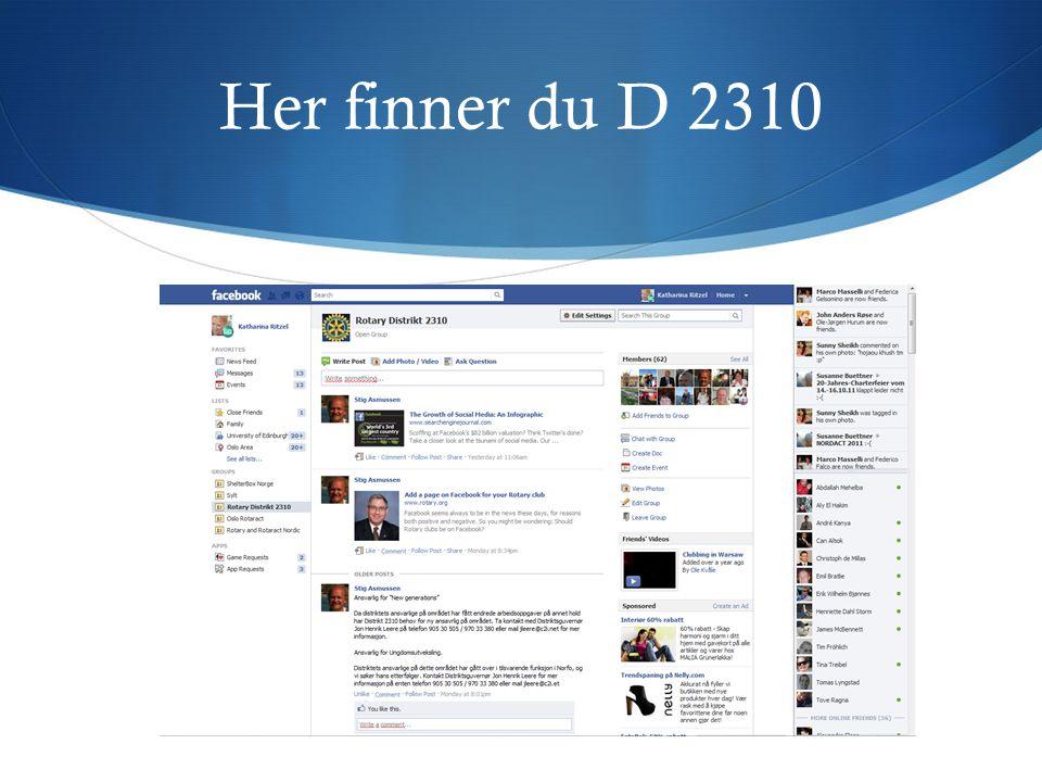 Her finner du D 2310