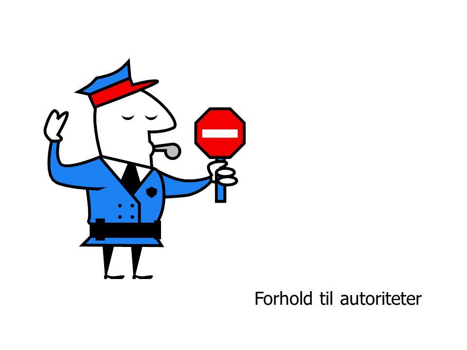 Forhold til autoriteter