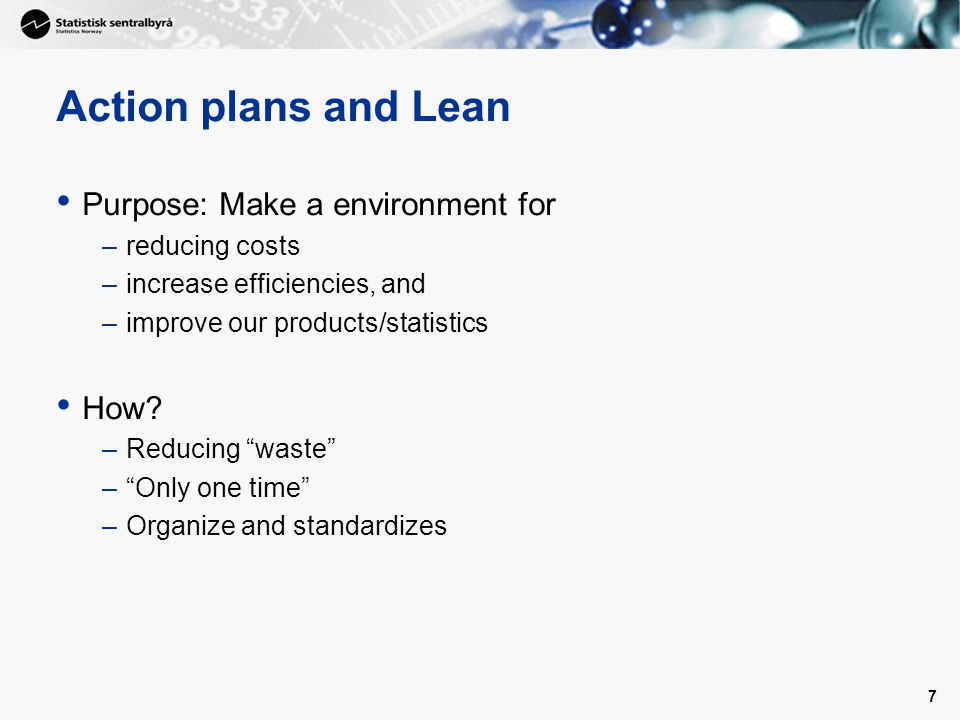 8 Why action plans.