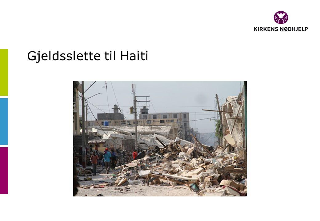 Gjeldsslette til Haiti