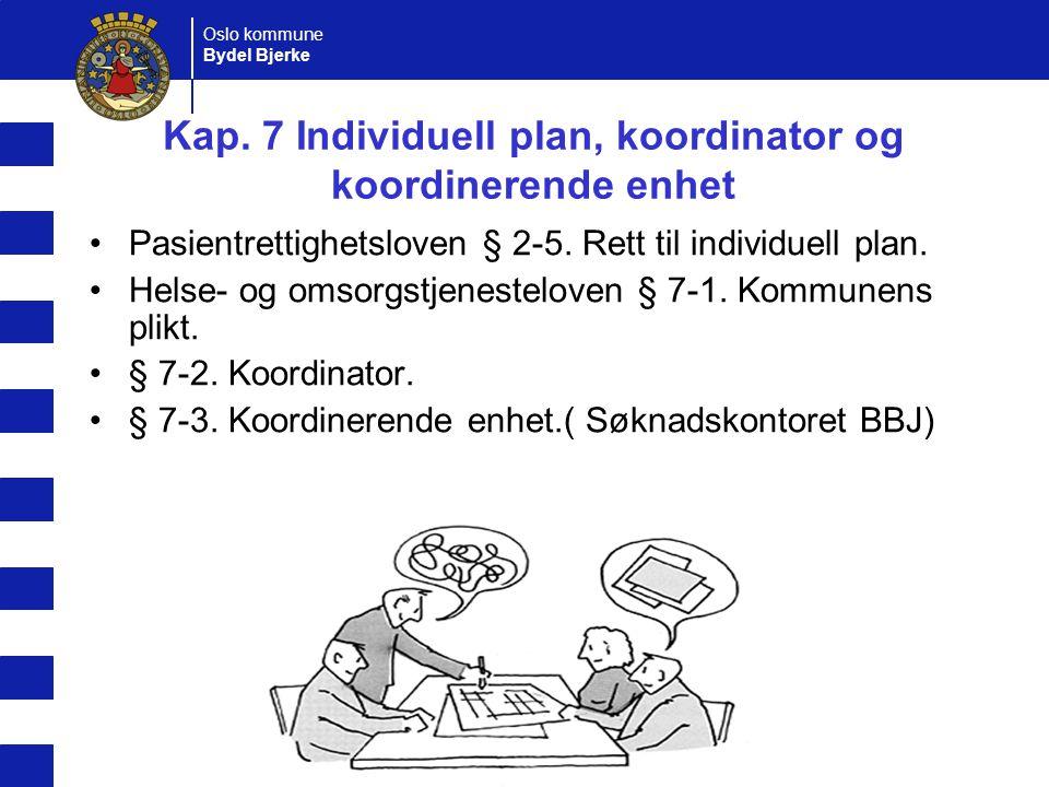 Oslo kommune Bydel Bjerke Kristin Enstad Tjenestene, ansvarlig leder og lovbest.