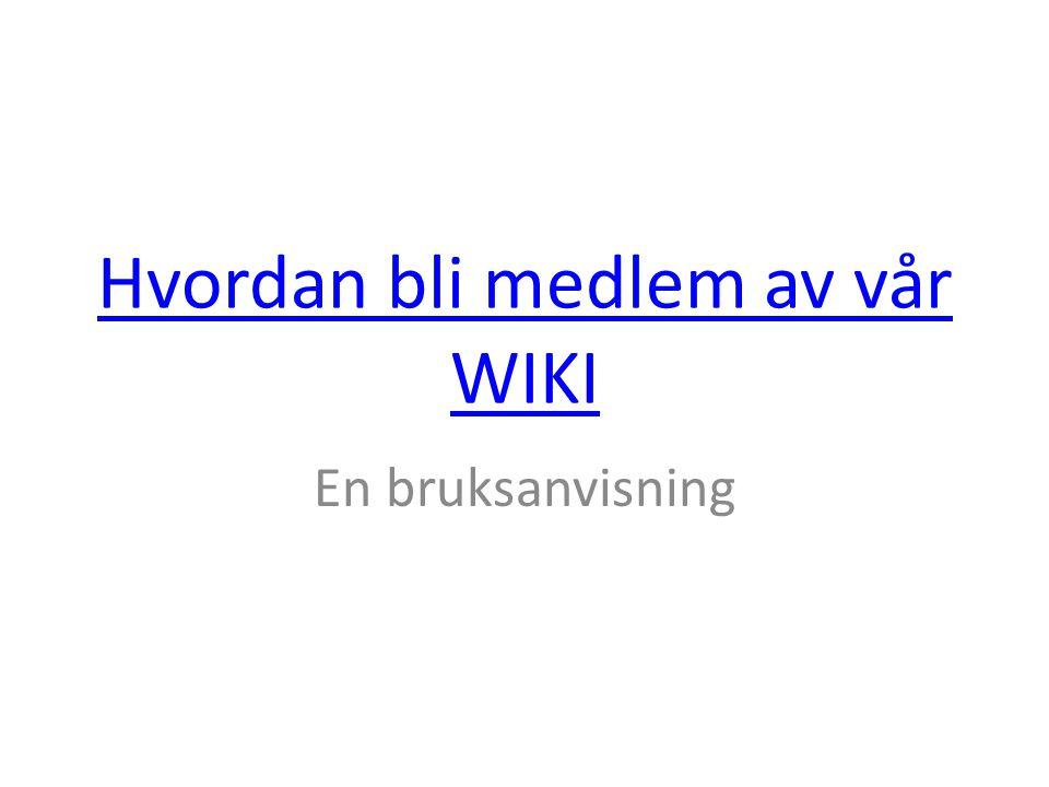 Gå inn på fagerborgfransk.wikispaces.com