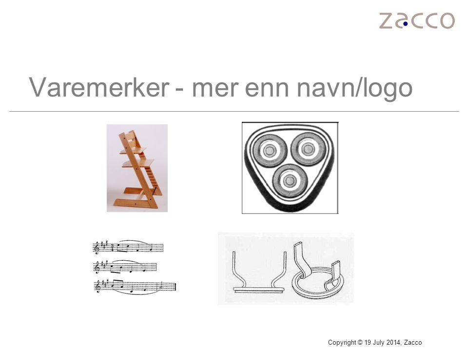 Copyright © 19 July 2014, Zacco Patent - mer enn gjennombrudds- forskning Kjernepatent