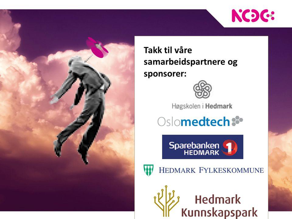 Takk til våre samarbeidspartnere og sponsorer: