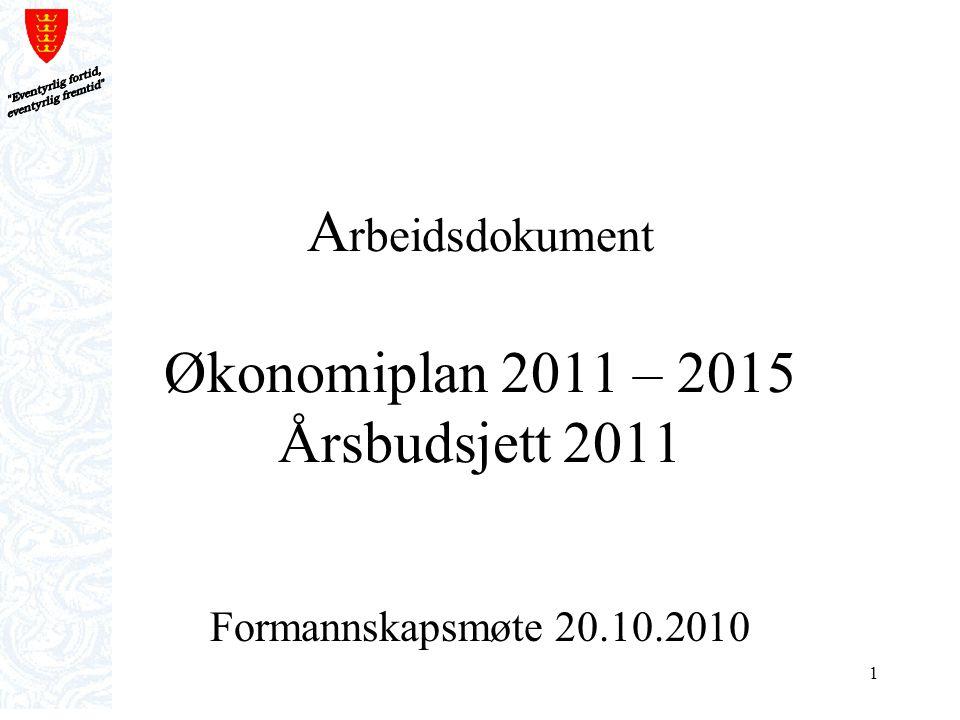 2 Formannskapets budsjettmøte