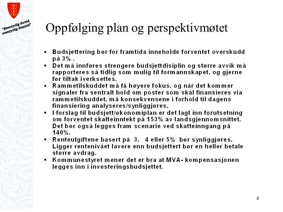 45 Total oversikt investeringsplan 2011-2015 med finansieringsplan