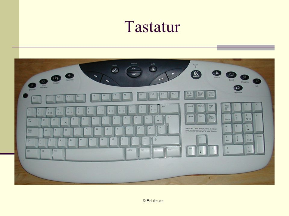 © Eduke as Tastatur
