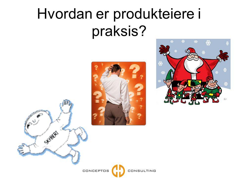 Hvordan er produkteiere i praksis
