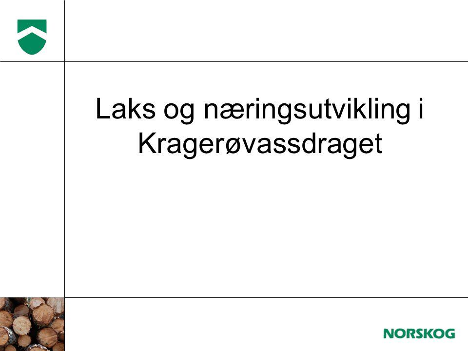Laks og næringsutvikling i Kragerøvassdraget
