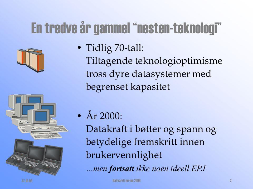 27.10.00Hallvard Lærum 200017 Hva har vi med Docu-Live 4.8.0 .