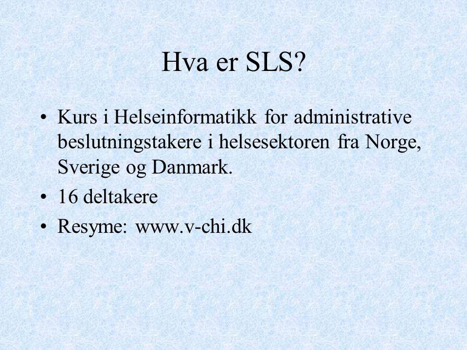 Hva er SLS.