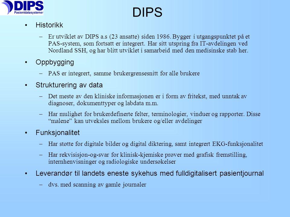 Desktop Journalutforsker Resept DocuLive EPR 4.8 Skjermdump EPR