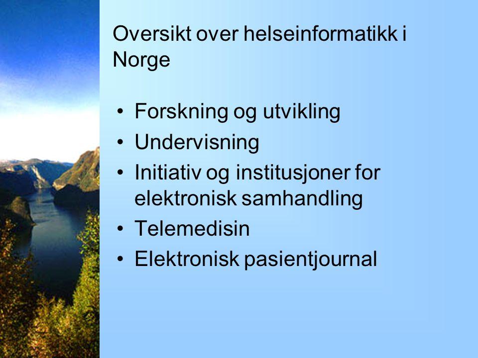 Den aktuelle situasjon i Norge Norges Teknisk- Naturvitenskapelige Universitet, Trondheim Hallvard Lærum stipendiat Kvalis-prosjektet, NTNU Trondheim