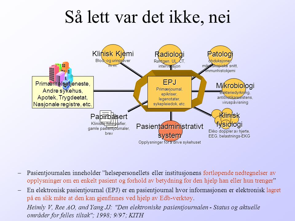 Kliniske påminnere virker Steen M and Bratland SZ: [Do computerized reminders to the patients affect the preventive work in general practice?] ; Tidsskr.