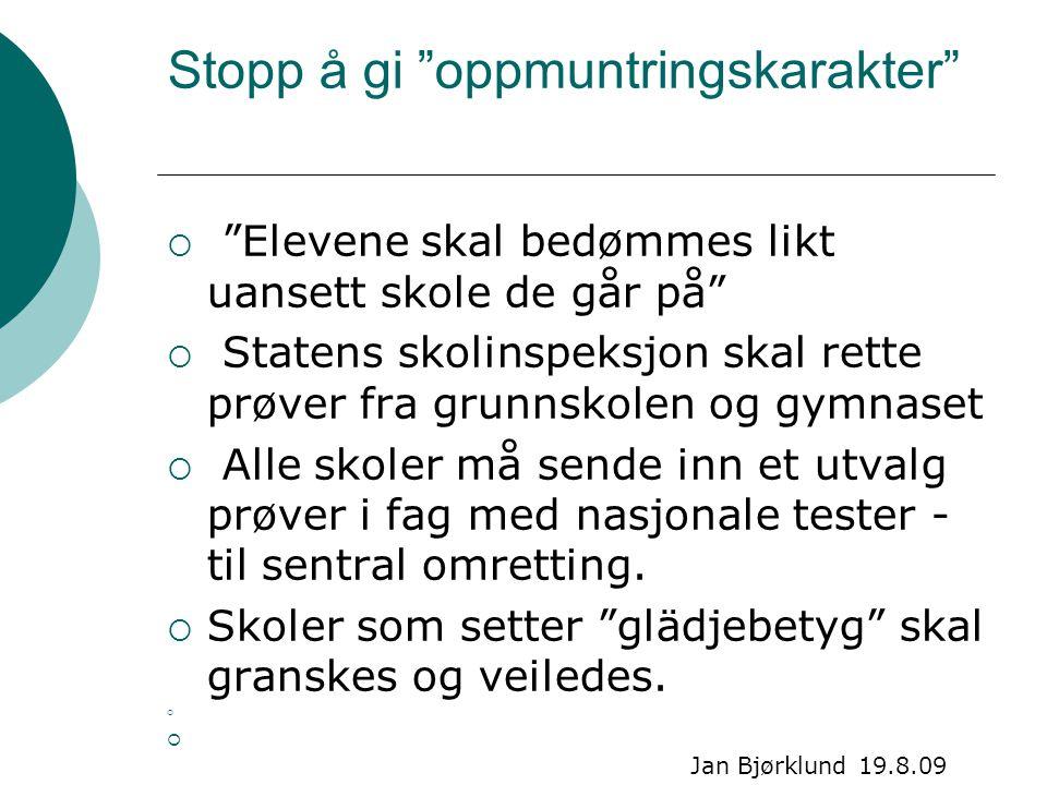 En firer må være like mye verdt over alt  I 30 år har han tatt imot elever fra ungdomsskolene i Bærum.