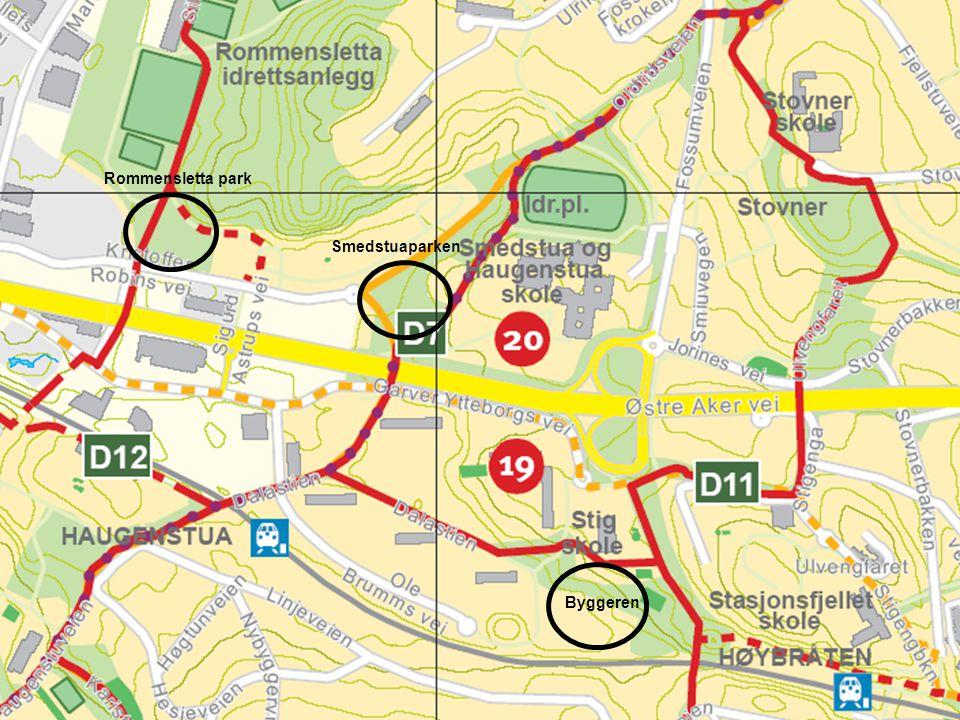 11 Rommensletta park Smedstuaparken Byggeren