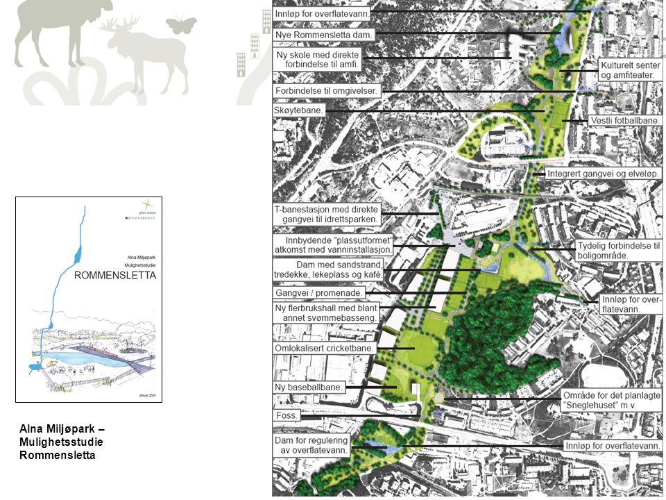 5 Alna Miljøpark – Mulighetsstudie Rommensletta