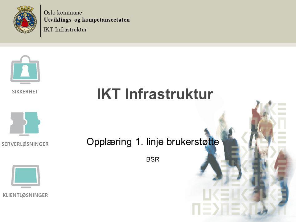 Agenda 1.Velkommen, presentasjon av deltagerne 2.Informasjon om prosjektet 3.Demonstrasjon av den nye plattformen (AKS) 4.Strekk & tøy 5.Hva er konsekvensene for deg og «dine» brukere.