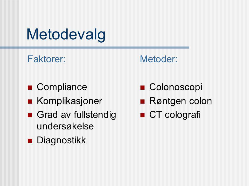 Hva vet vi om diagnostikk.