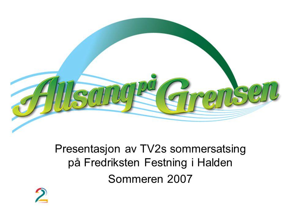 Presentasjon av TV2s sommersatsing på Fredriksten Festning i Halden Sommeren 2007