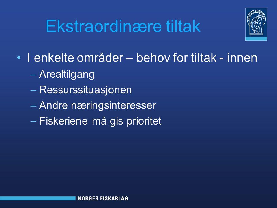 Handlingsplan for kystfiske i Sør-Norge Målsetting –Bidra til økt lønnsomhet for yrkesfiskerne økt verdiskaping i kystsamfunn økt tettere dialog og bedre forståelse for fiskernes situasjon hos kystkommuner, fylker og befolkningen for øvrig