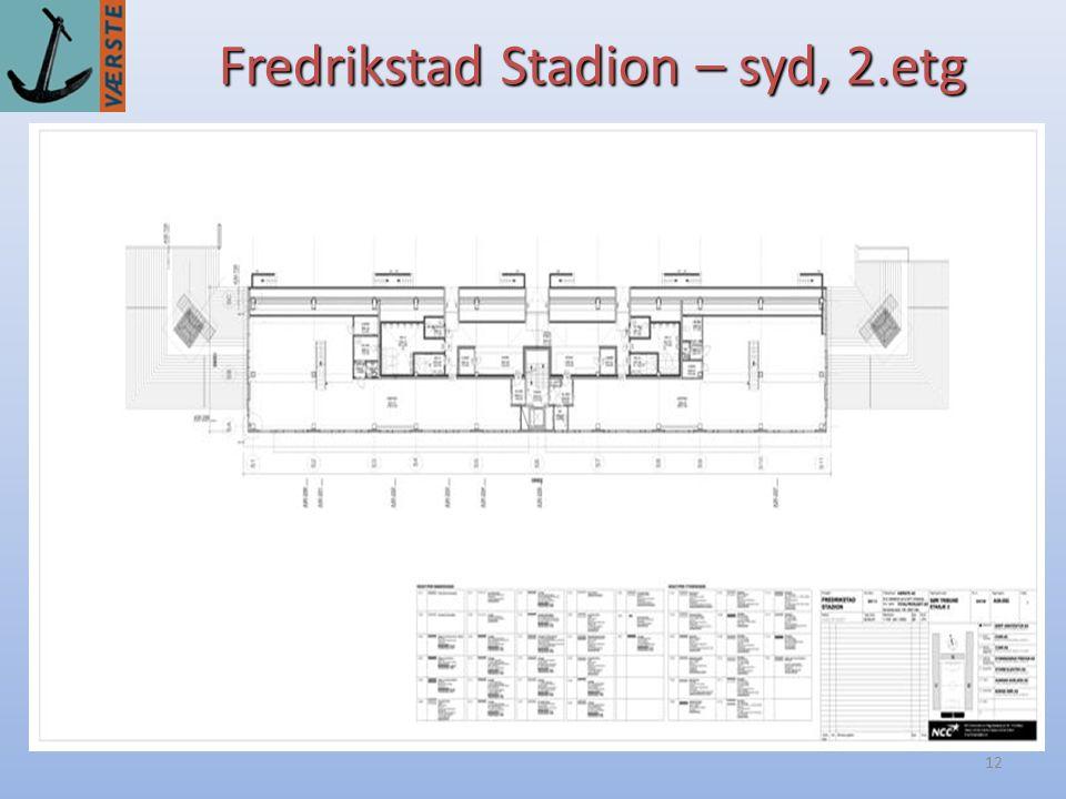 12 Fredrikstad Stadion – syd, 2.etg