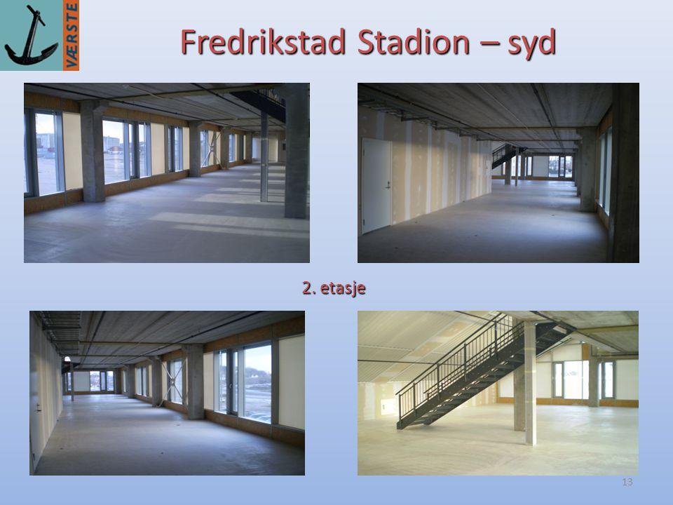 13 Fredrikstad Stadion – syd 2. etasje