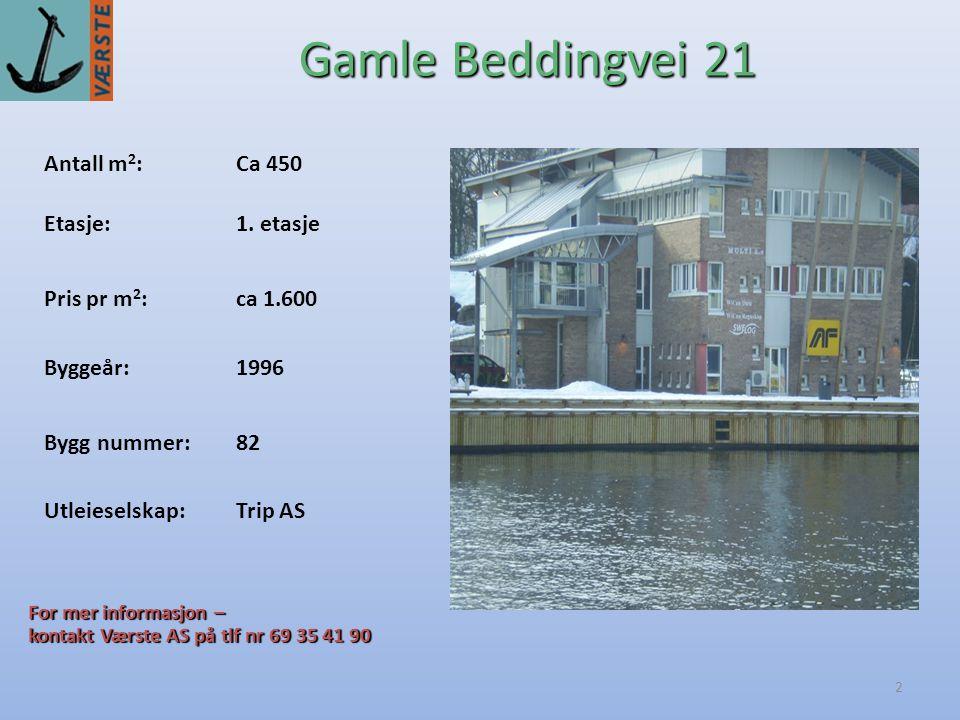 2 Antall m 2 :Ca 450 Byggeår:1996 Etasje:1.