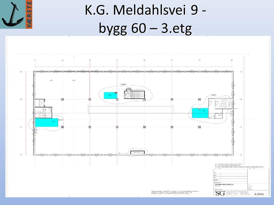 6 K.G. Meldahlsvei 9 - bygg 60 – 3.etg
