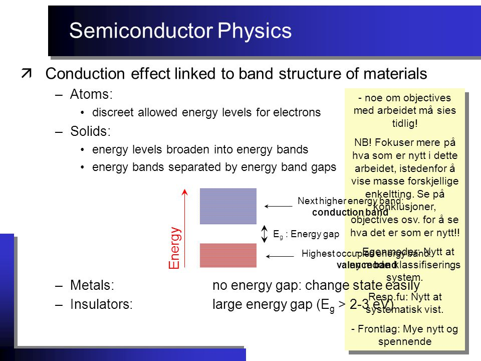 Radiation effects äRadiation sensor examples:  Photodiode / pn-junction - reverse biased Uses photoconductive effect to detect radiation.