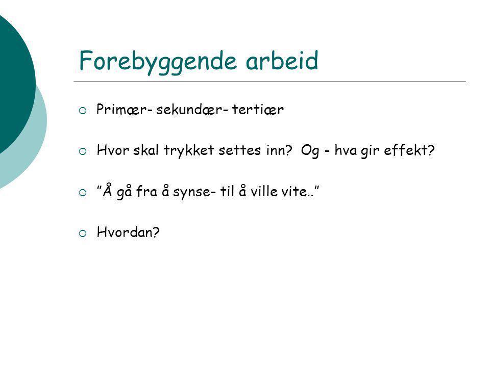 Hitra og Frøya sin ungdomsundersøkelse(13-18 år) Sentio Research Norge og prosj.