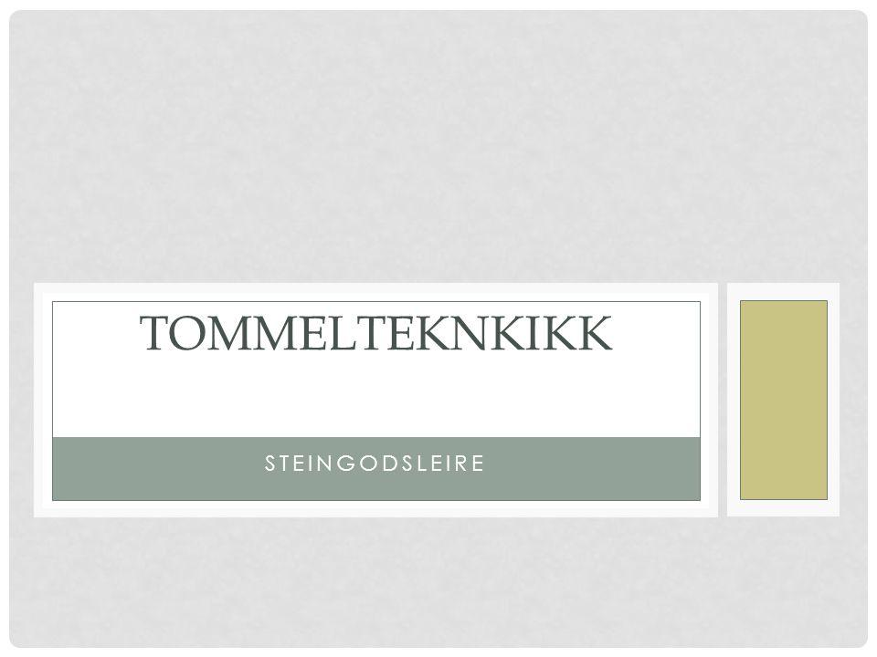 STEINGODSLEIRE TOMMELTEKNKIKK