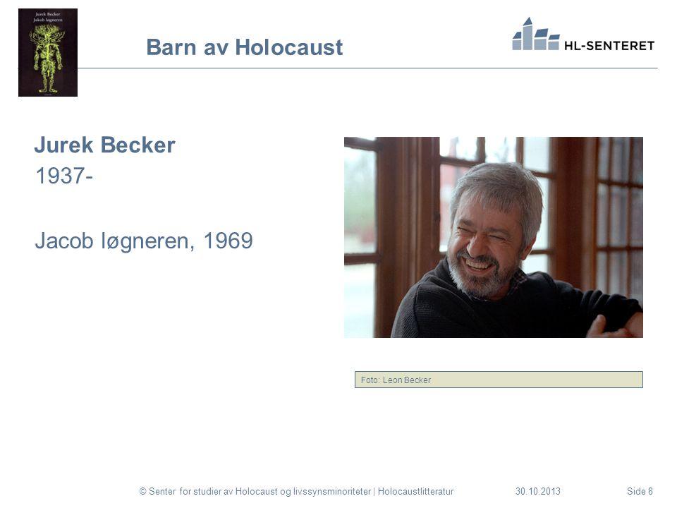 30.10.2013 Barn av Holocaust.